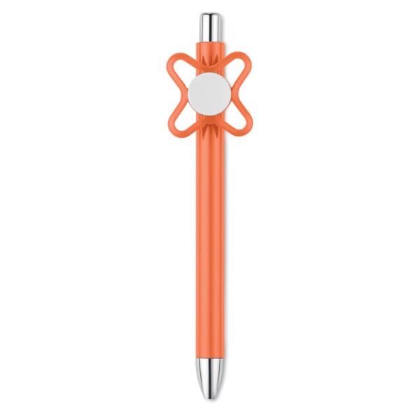 Długopis ze spinnerem Molino - pomarańczowy