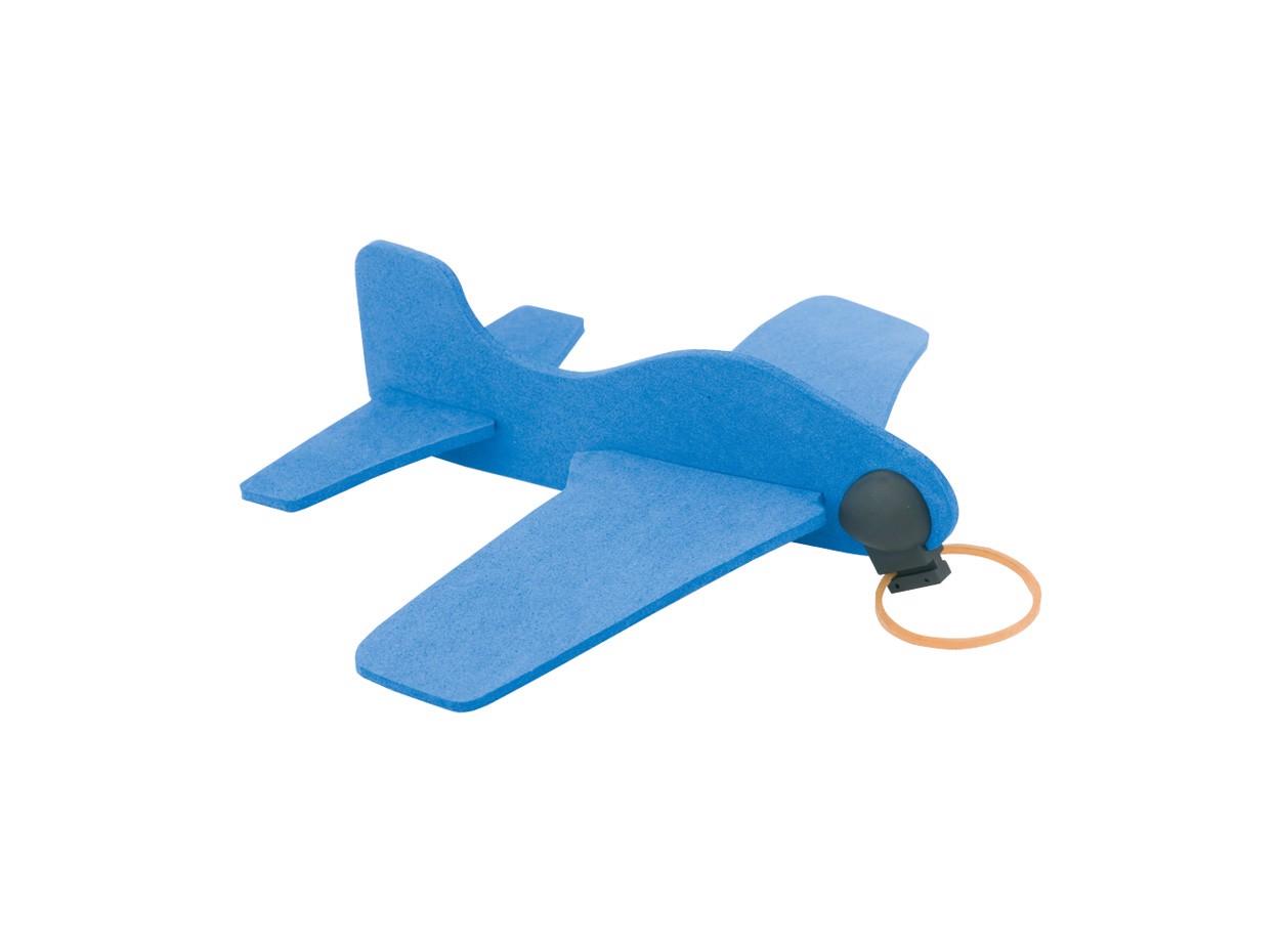 Avion 3D Baron - Albastru