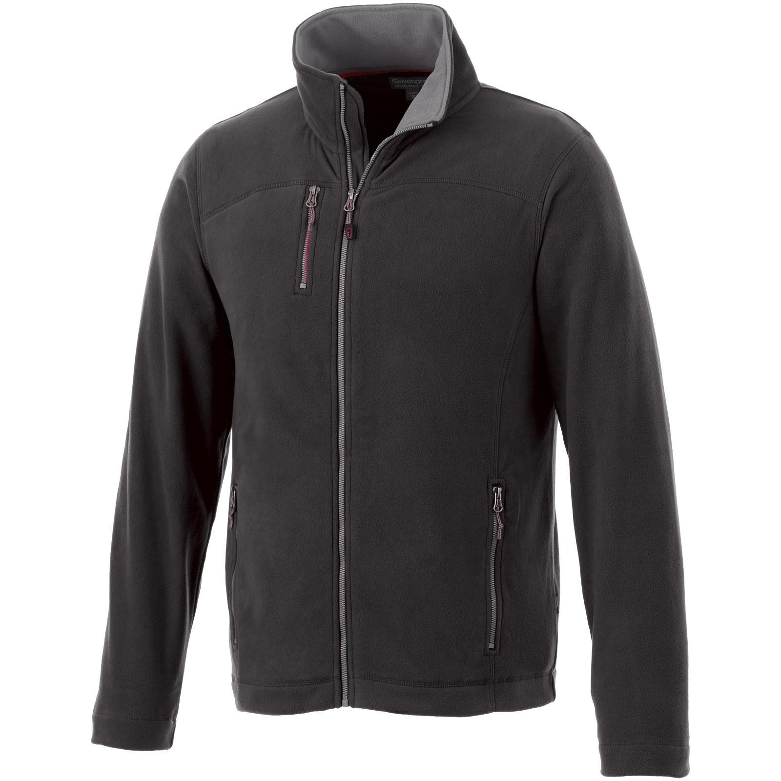 Pitch mikroflísová bunda - Černá / 3XL