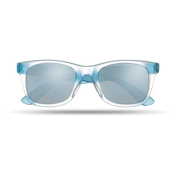 Lustrzane okulary przeciwsłon America Touch - granatowy