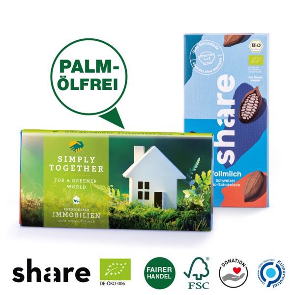 share Bio-Schokolade