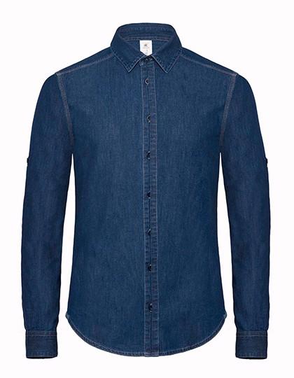 Shirt Dnm Vision / Men - Deep Blue Denim / L