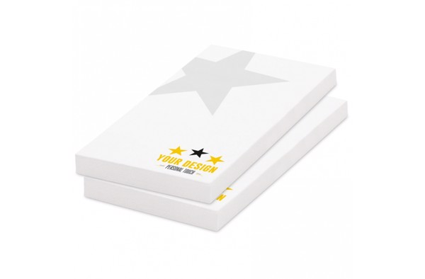 100, adhesive notes, 50x72mm, full-colour
