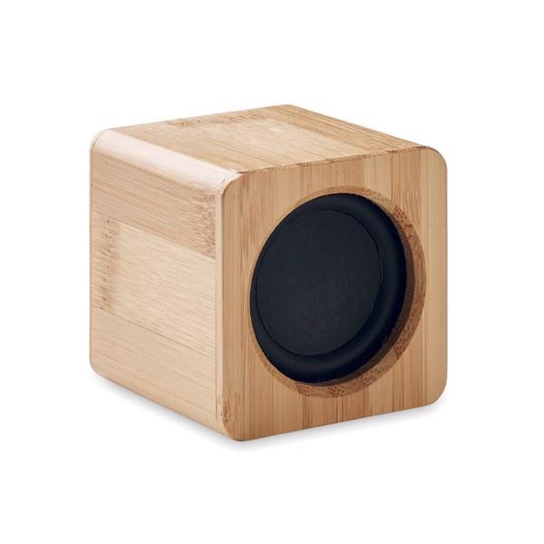 Głośnik bezprzewodowy, bambus Audio