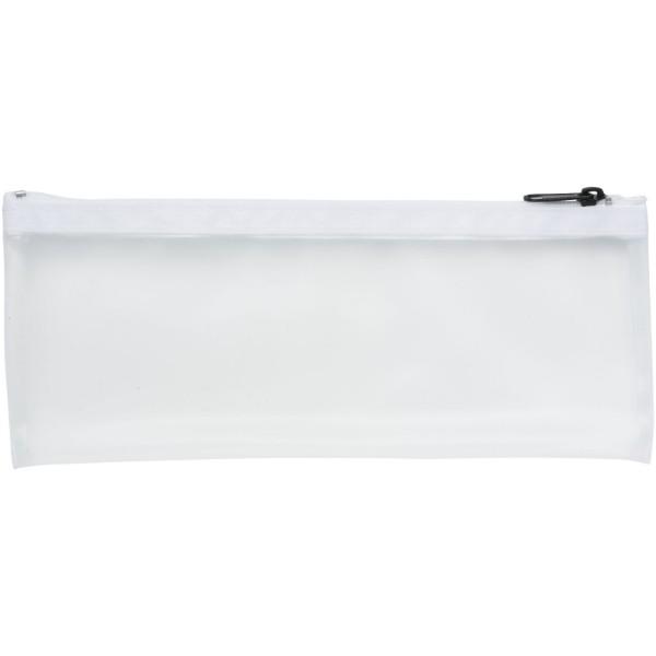 Pouzdro na tužky Fabien frost - Průhledná bílá