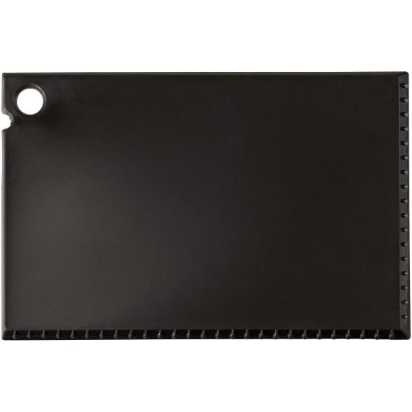 Škrabka na led Coro o velikosti platební karty - Černá