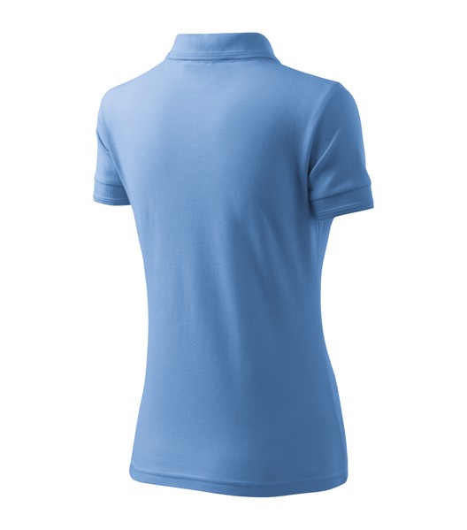 Polo Shirt Ladies Malfini Pique Polo - Sky Blue / XL