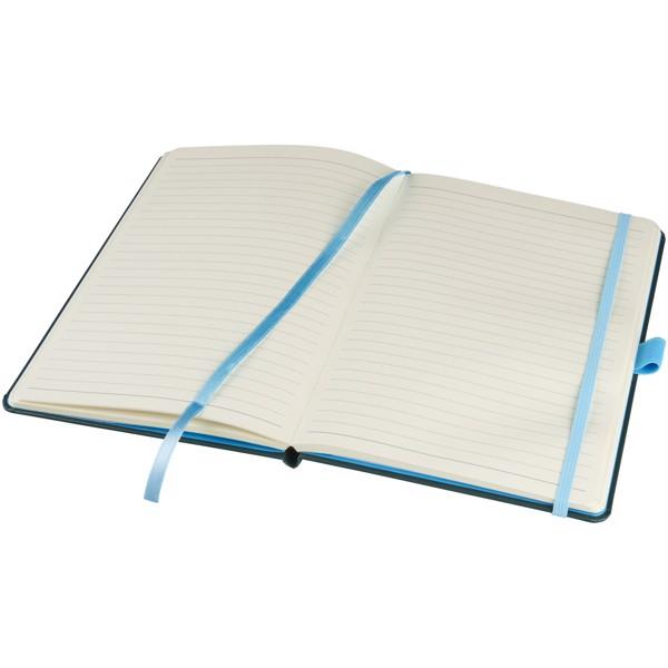 Barevný zápisník s pevnými deskami Meyla A5 - Zelená