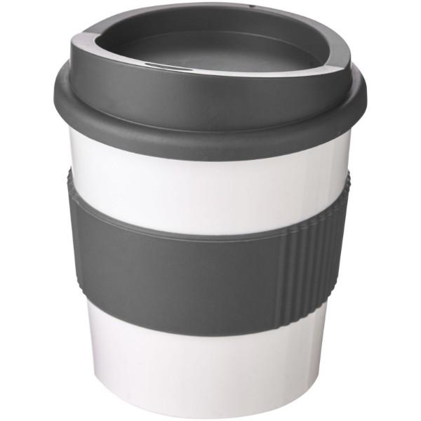 Kubek z serii Americano® Primo o pojemności 250 ml z uchwytem - Biały / Szary