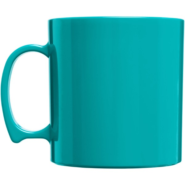 Standard 300 ml plastic mug - Aqua