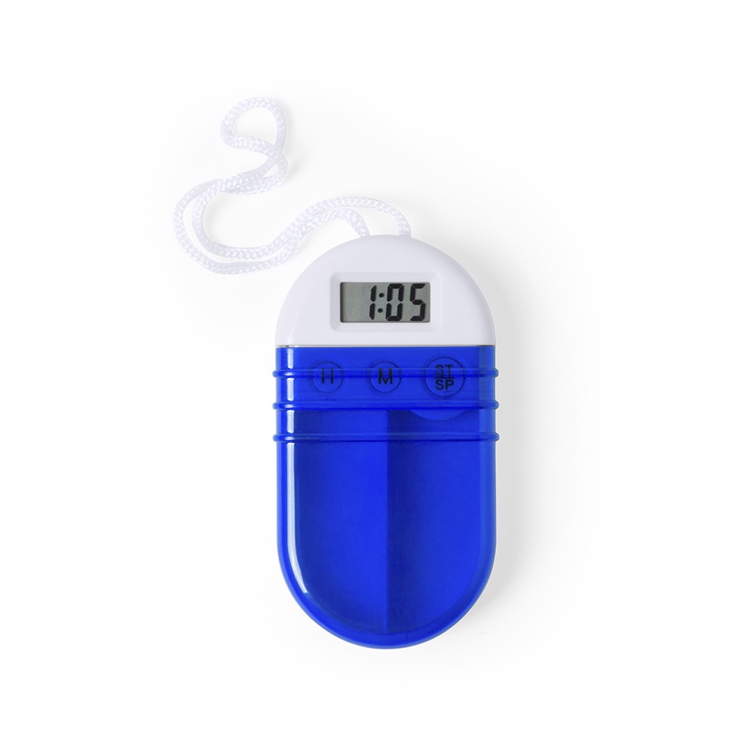 Pastillero Ziprik - Azul