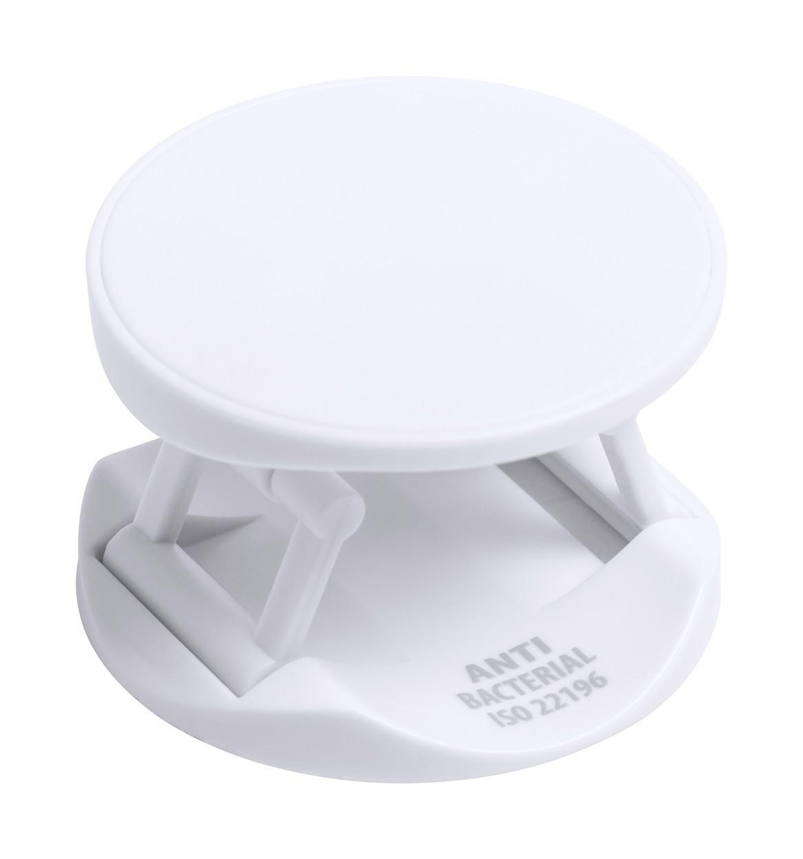 Antibakterijsko držalo za mobilni telefon Kumol - White