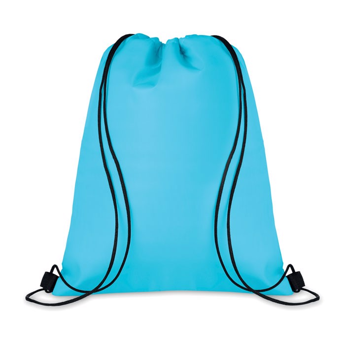 210D Drawstring cooler bag Cooltas - Turquoise