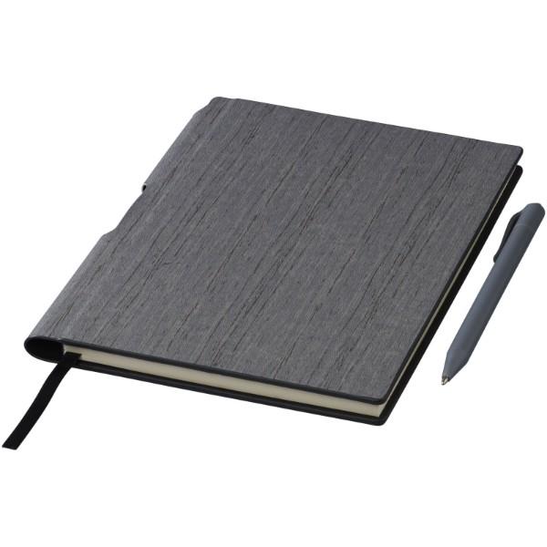 Zápisník s pevnými deskami A5 Bardi - Šedá