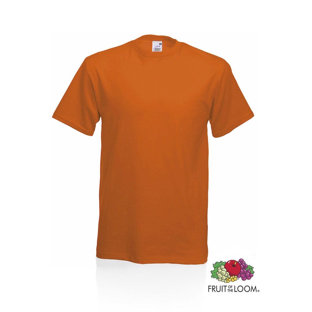 Camiseta Adulto Color Original - Naranja / L