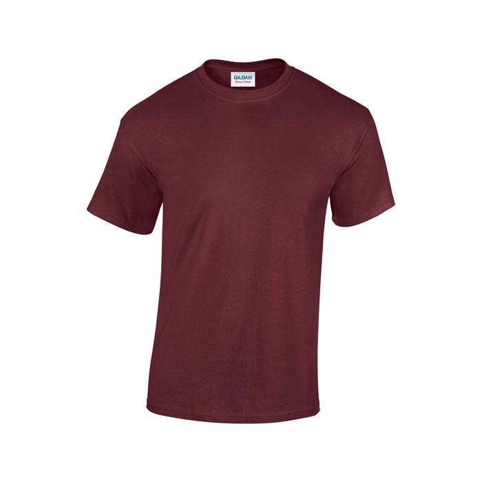 Tlusté tričko 185 g/m² Heavy T-Shirt 5000 - Maroon / L