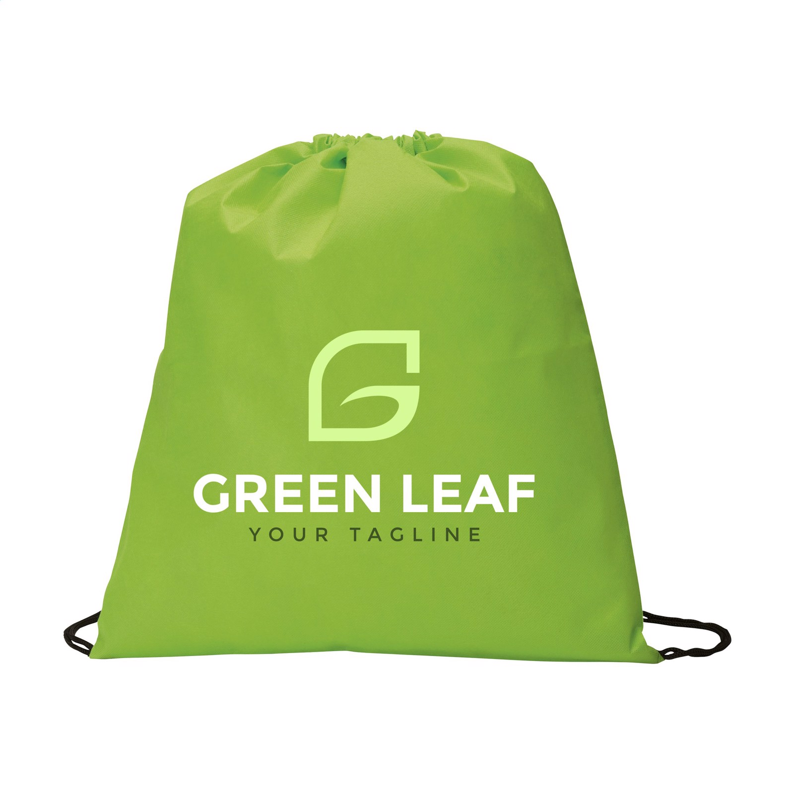 Non-Woven PromoBag backpack - Lime
