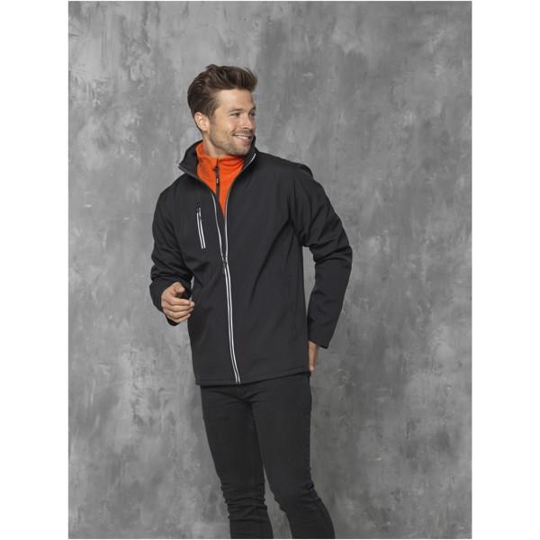 Softshellová bunda Orion pro muže - Černá / L