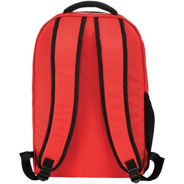 """Batoh na notebook 15.6"""" Rush PVC Free - Červená s efektem námrazy"""
