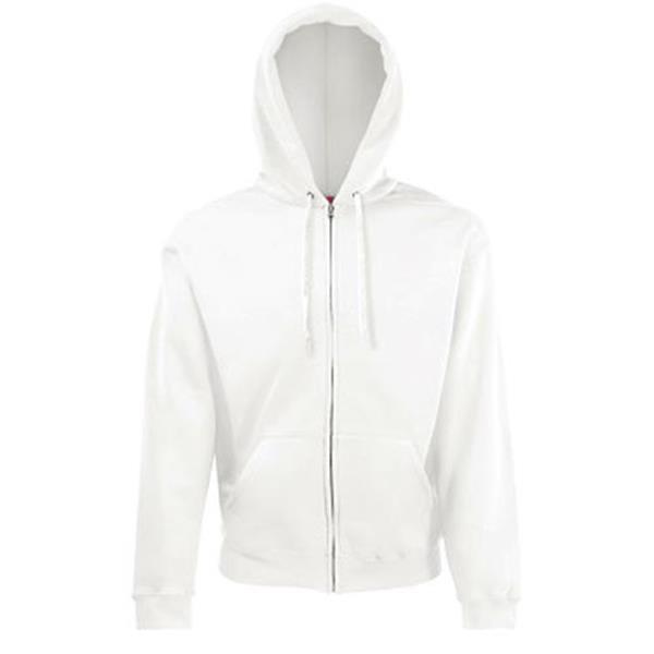Classic Hooded Jacket - Branco / XL