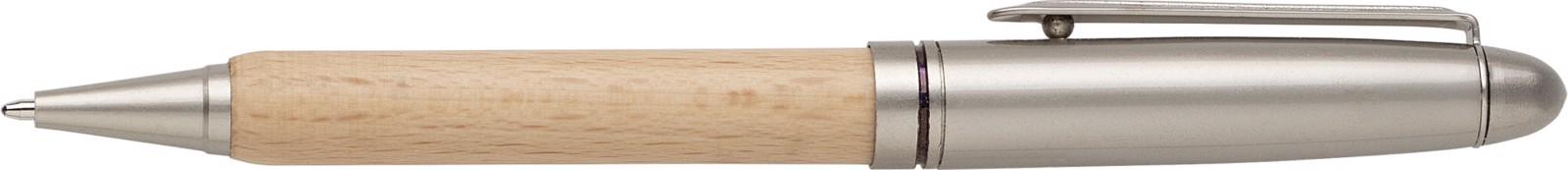 Beech wood ballpen