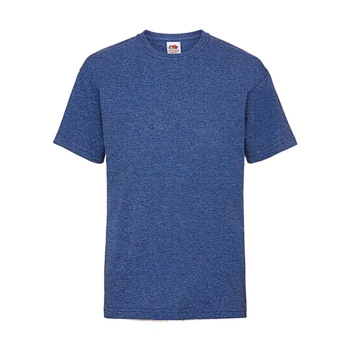 Kinder T-Shirt 165 g/m² Kids Value Weight 61-033-0 - Heather Royal / XXL