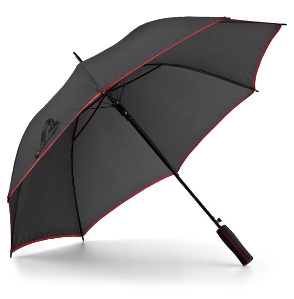 JENNA. Ομπρέλα με αυτόματο άνοιγμα - Κόκκινο