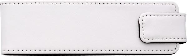 Aluminium writing set - White