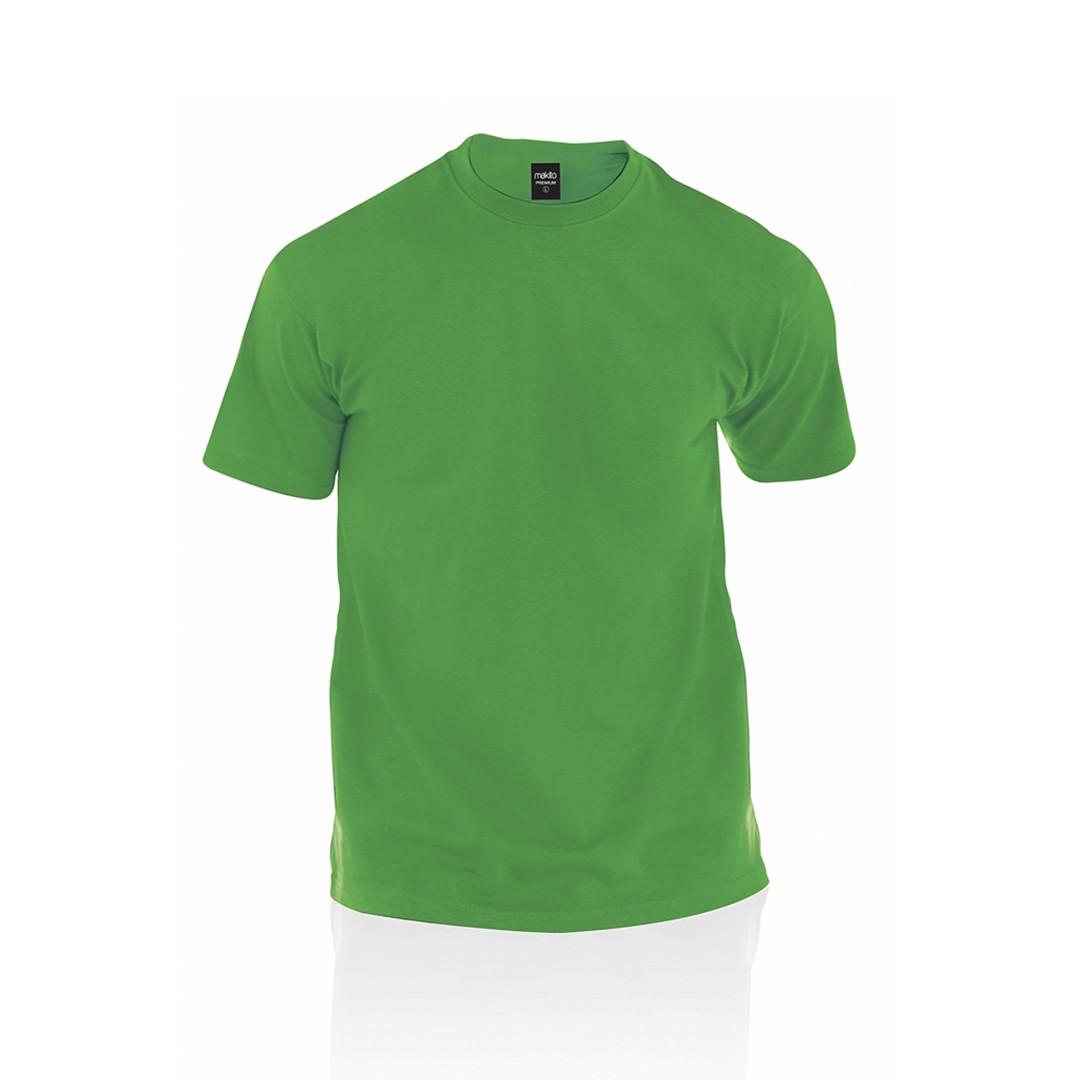 Camiseta Adulto Color Premium - Verde / XL