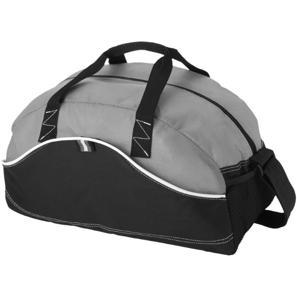 Boomerang duffel bag - Solid black / Grey