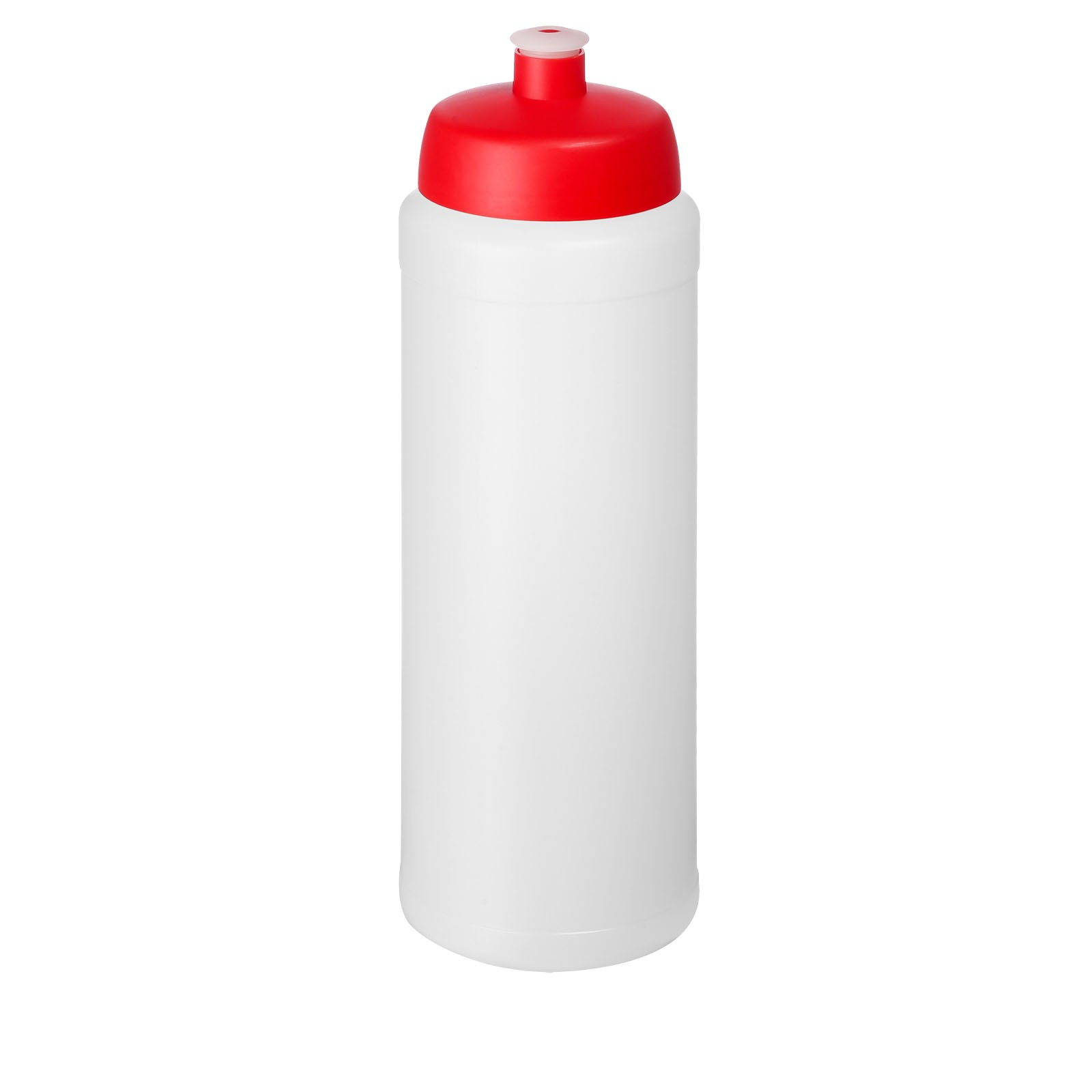 Baseline® Plus 750 ml bottle with sports lid - Transparent / Red