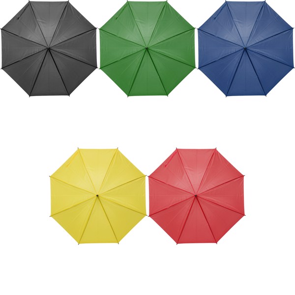 Polyester (170T) umbrella - Green