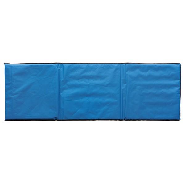 Skládací plážové lehátko - Modrá