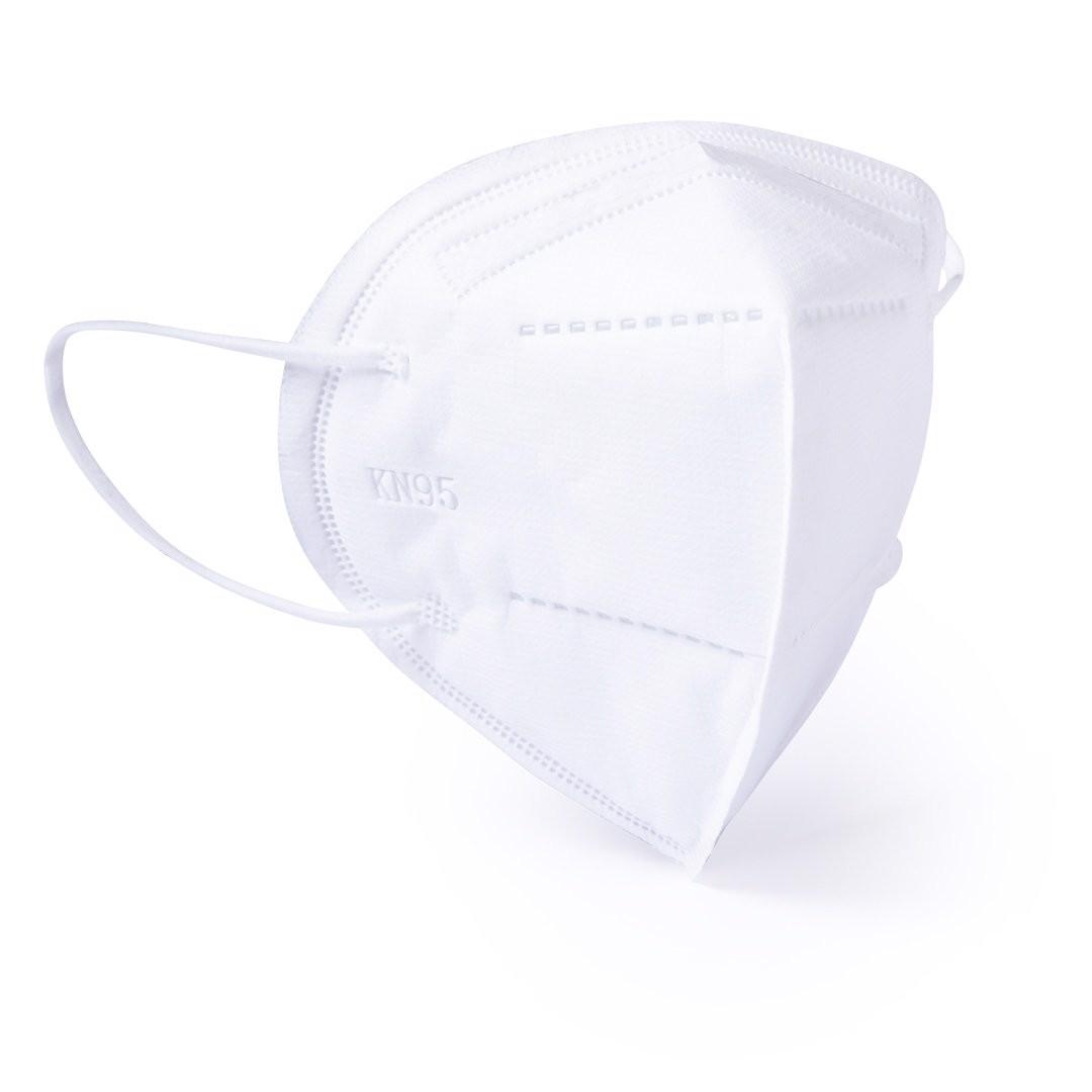 Mascarilla de Seguridad KN95 Bler - Blanco