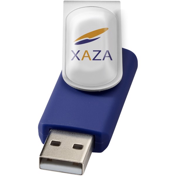 Rotační Doming USB - Modrá / 8GB