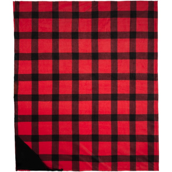 Buffalo ultra plush plaid blanket - Red