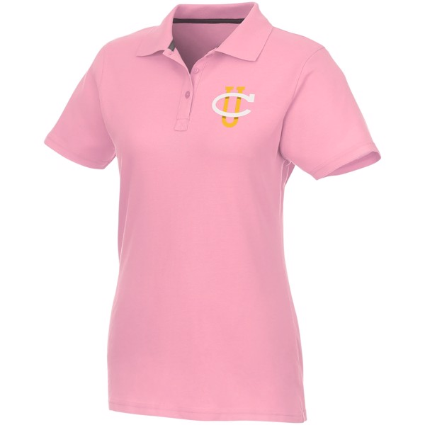 Helios short sleeve women's polo - Light Pink / XXL
