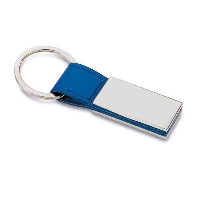 Přívěsek z PVC Rectanglo - blue