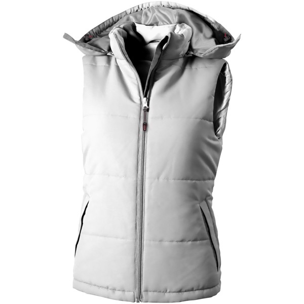 Gravel ladies bodywarmer - White / XXL