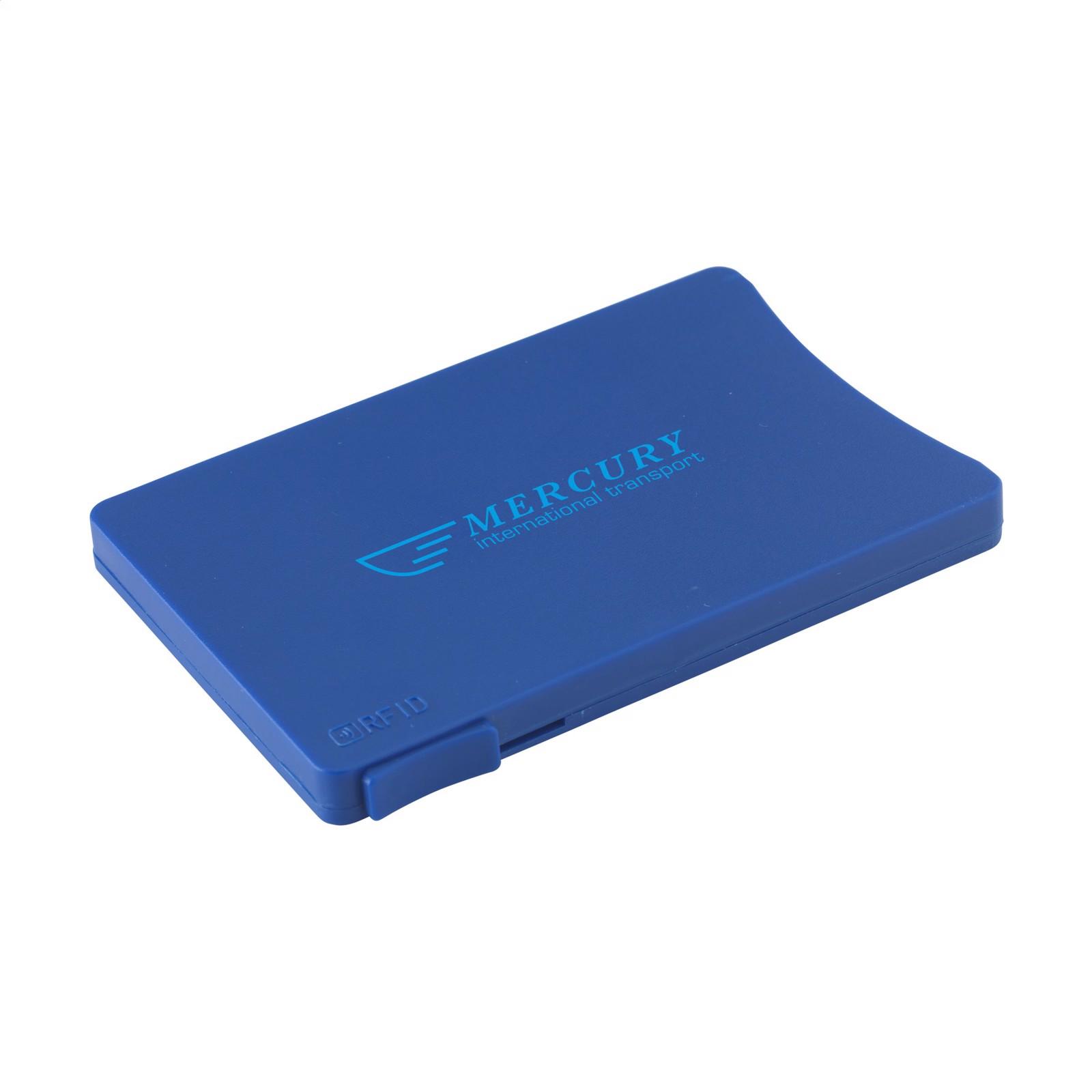 RFID Visita Slide card holder - Blue