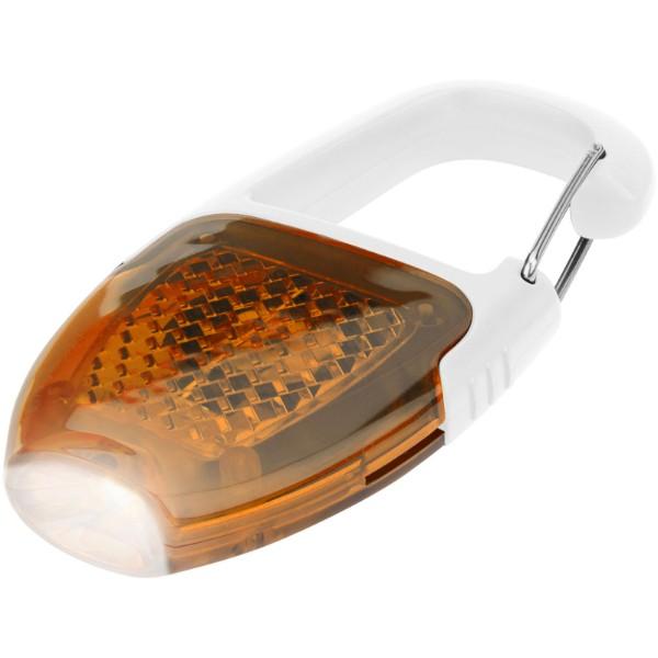 Reflect-or LED-Schlüsselanhängerlicht mit Karabiner