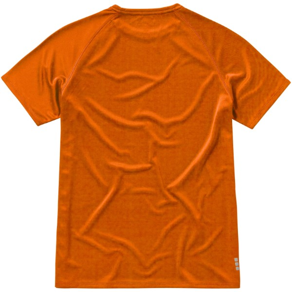 Niagara short sleeve men's cool fit t-shirt - Orange / XS