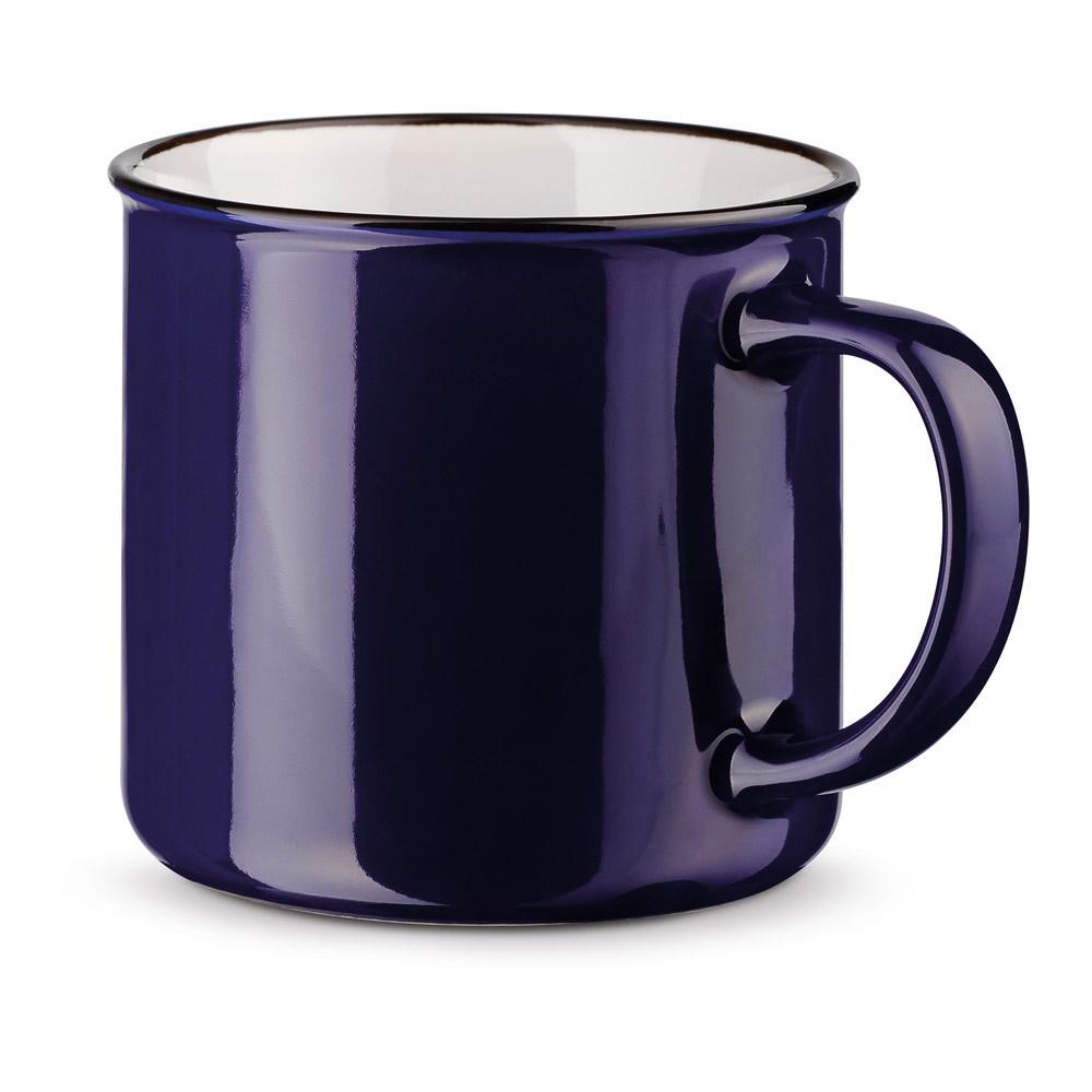 VERNON. Keramický hrnek 360 ml - Námořnická Modrá