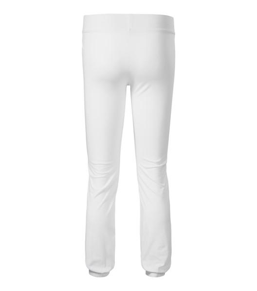Sweatpants women's Malfini Leisure - White / XS