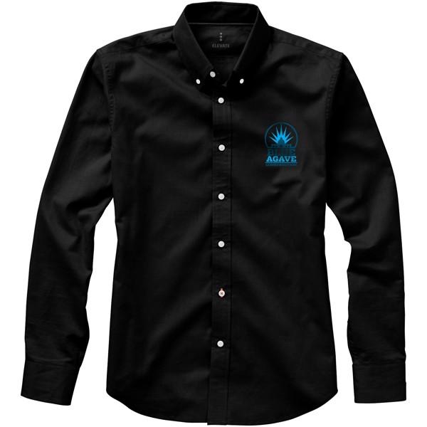 Vaillant košile s dlouhým rukávem - Černá / L