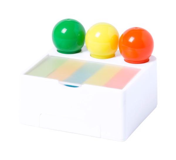 Set Evidențiatoare Bolings - Alb / Multicolor
