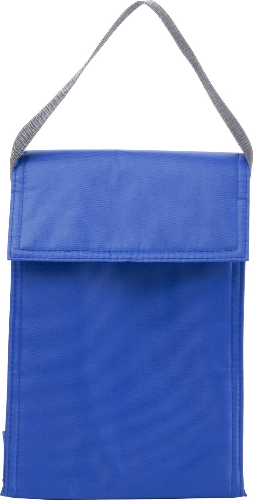 Polyester  (420D) cooler/lunch bag - Cobalt Blue