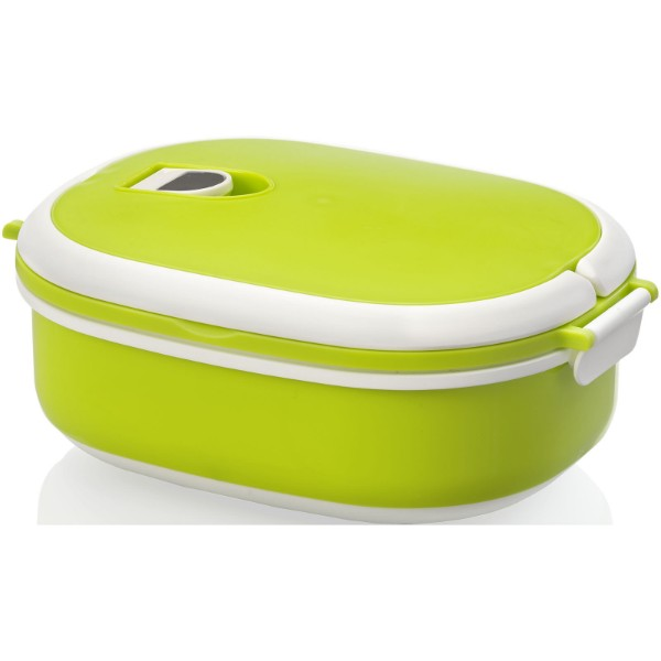 Spiga 750 ml lunch box - Lime / White