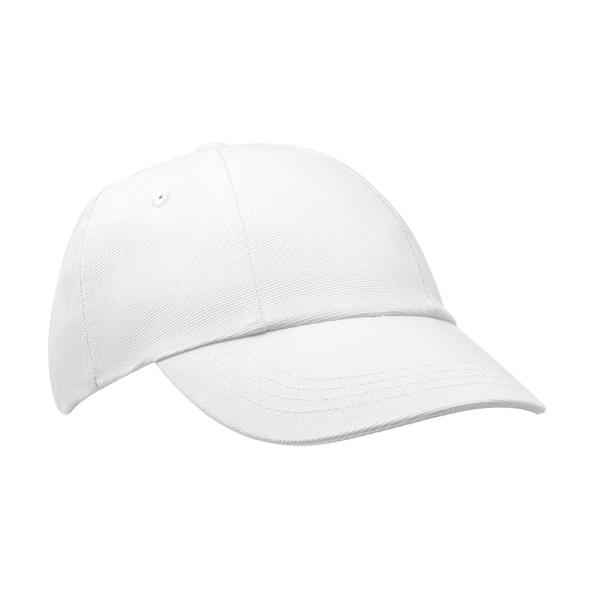 RADO. 100% Bavlněná čepice - Bílá
