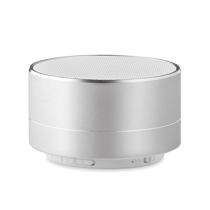 3W Bluetooth speaker in alumin Sound - matt silver